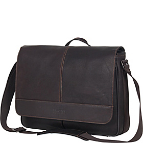 Risky Business - Columbian Leather Messenger Bag Brown