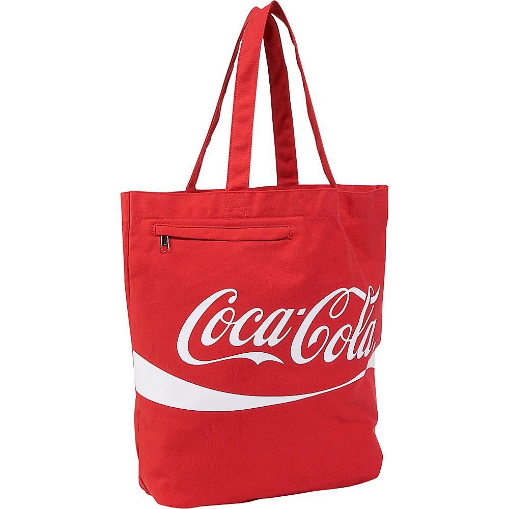 Ashley M Coca-Cola Tote - Tote - Handbags, Fabric Handbags