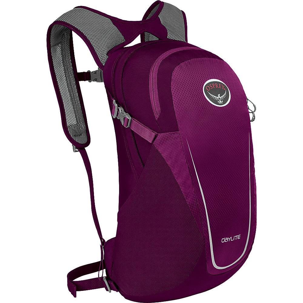 Osprey Daylite Backpack Eggplant Purple - Osprey Day Hiking Backpacks - Outdoor, Day Hiking Backpacks