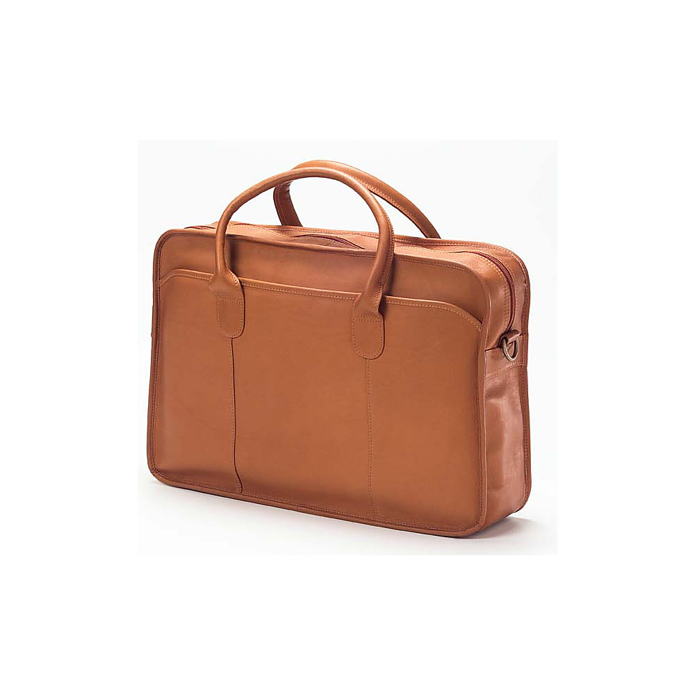 Clava Top Handle Briefcase - Vachetta Tan - Work Bags & Briefcases, Non-Wheeled Business Cases