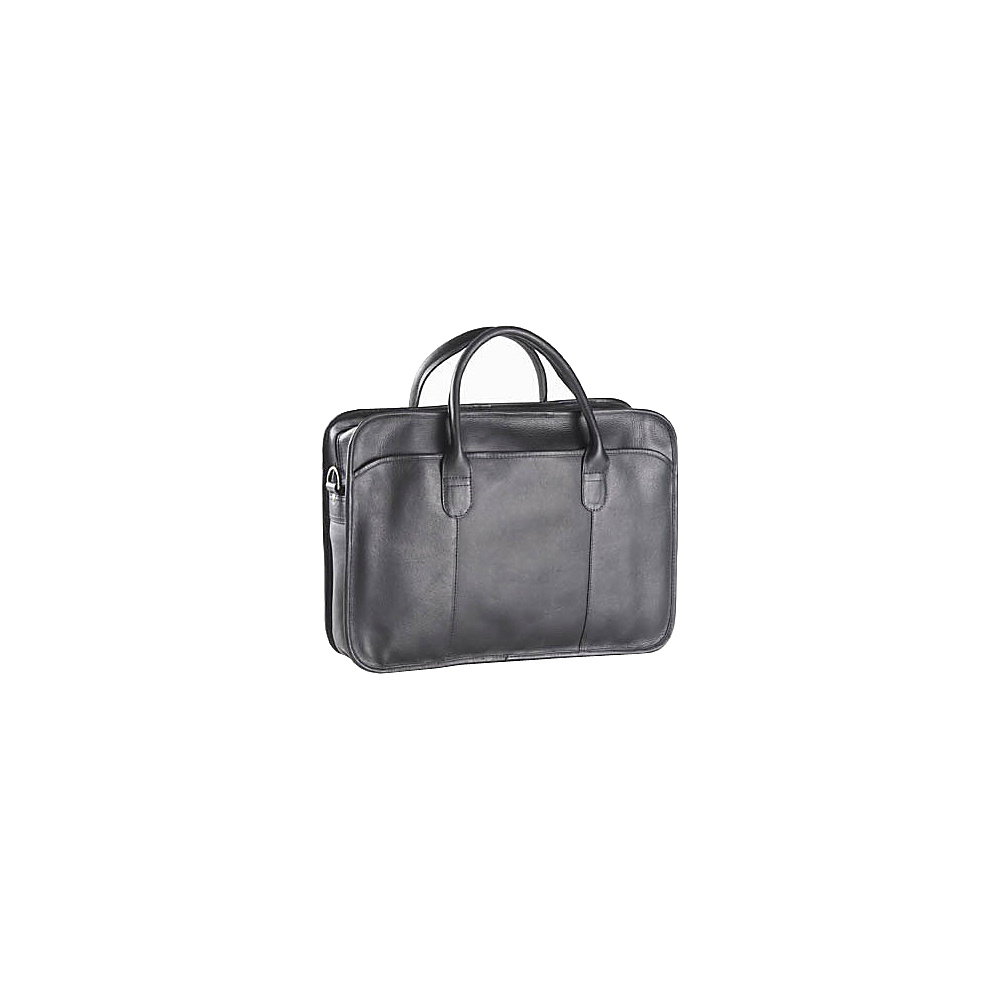 Clava Top Handle Briefcase - Vachetta Black - Work Bags & Briefcases, Non-Wheeled Business Cases