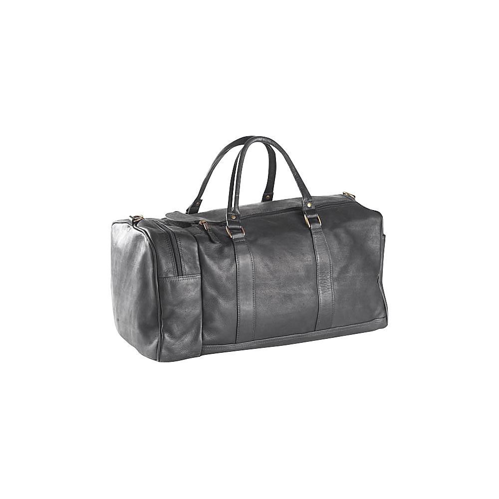 Clava One Pocket 20 Duffel - Vachetta Black - Duffels, Travel Duffels