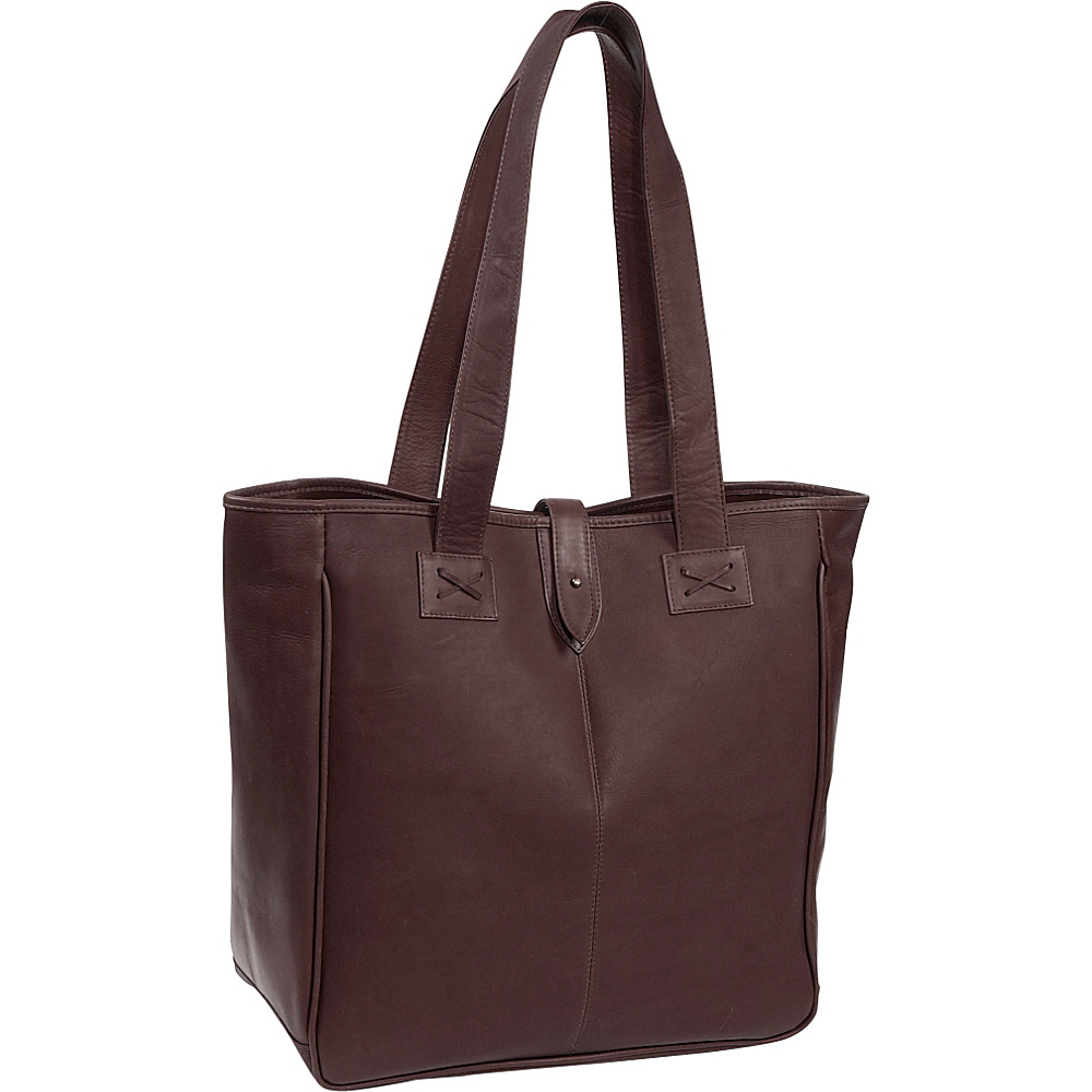 Clava Oversized Tote - Vachetta Cafe - Work Bags & Briefcases, Women's Business Bags