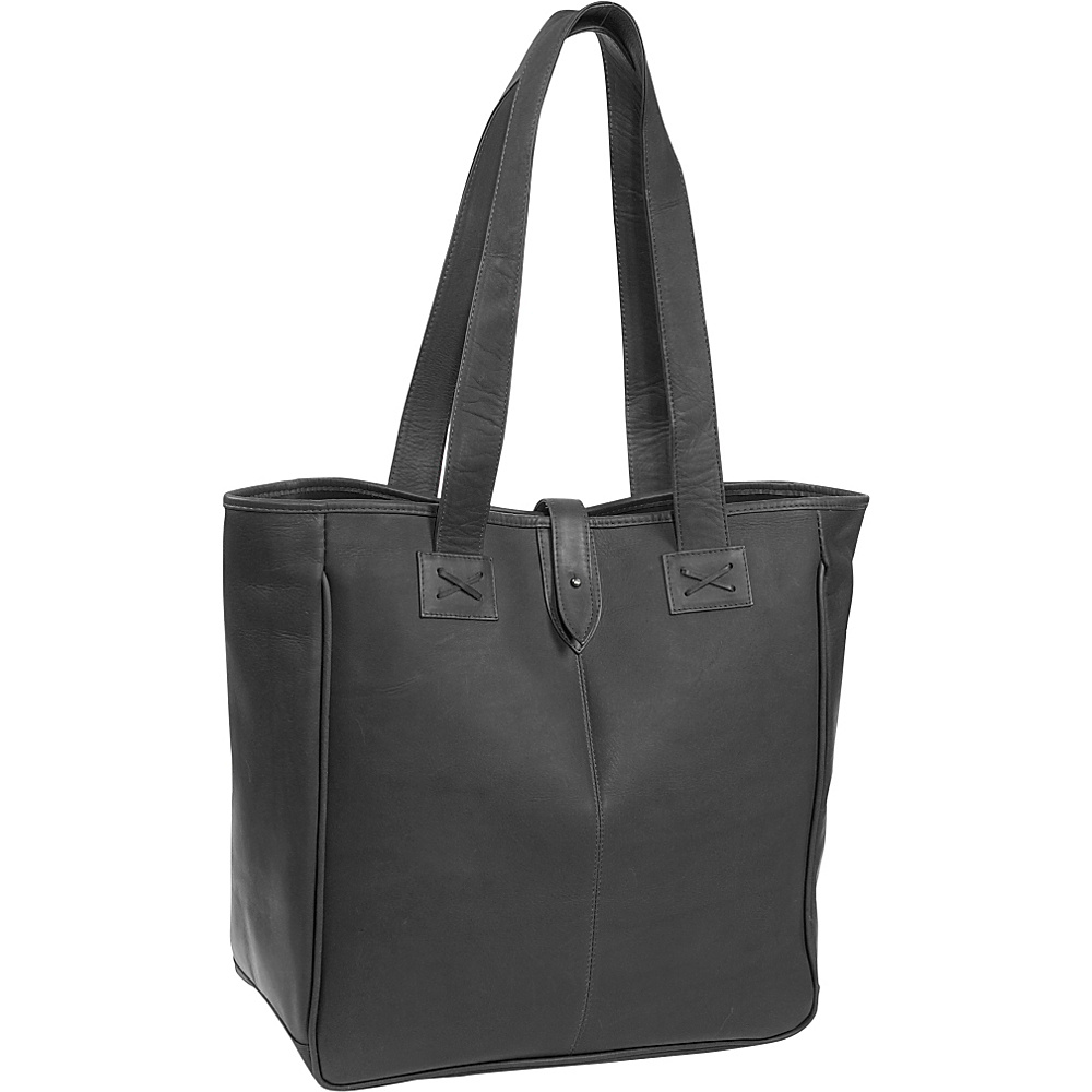 Clava Oversized Tote - Vachetta Black - Work Bags & Briefcases, Women's Business Bags