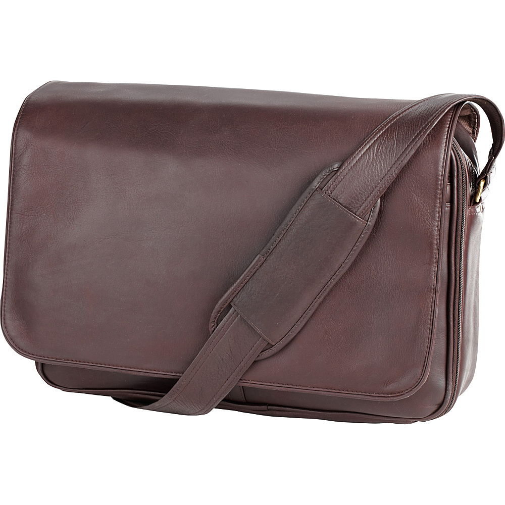 Clava Leather Laptop Mailbag / Sling - Vachetta Cafe - Work Bags & Briefcases, Messenger Bags