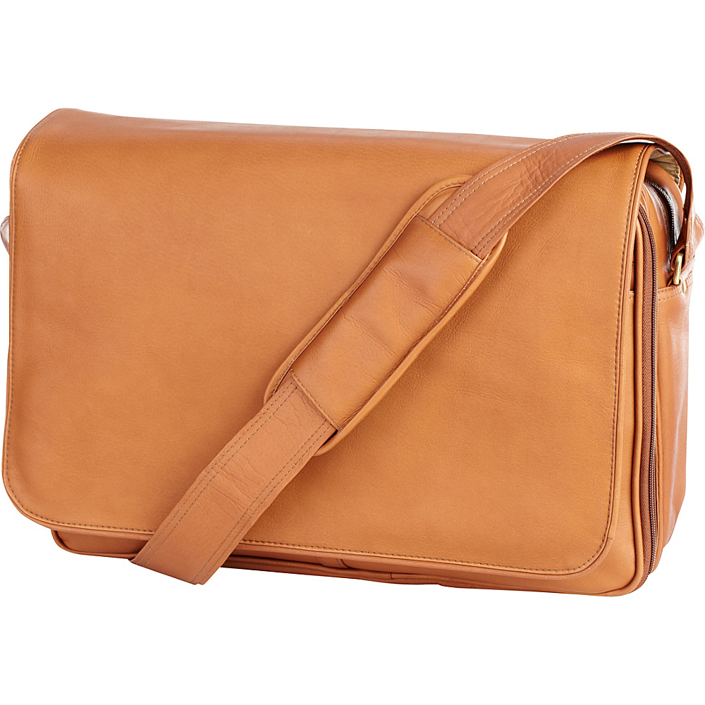 Clava Leather Laptop Mailbag / Sling - Vachetta Tan - Work Bags & Briefcases, Messenger Bags