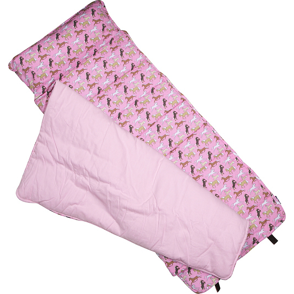 Wildkin Horses in Pink Sleep Mat - Horses in Pink - Travel Accessories, Travel Pillows & Blankets