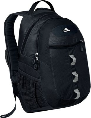 High Sierra Opie Backpack Black - High Sierra Everyday Backpacks