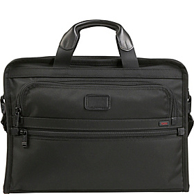 Alpha Slim Large Screen Computer Portfolio Brief Black