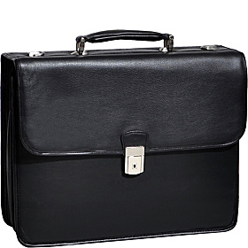Ashburn Leather 15.4'' Laptop Case Black