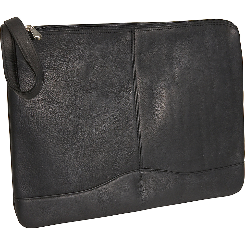 David King & Co. Leather Envelope Black - David King & Co. Business Accessories - Work Bags & Briefcases, Business Accessories