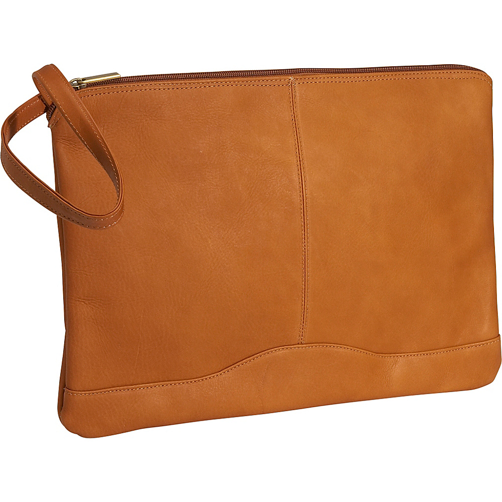 David King & Co. Leather Envelope Tan - David King & Co. Business Accessories - Work Bags & Briefcases, Business Accessories