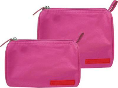 pb travel Cosmetic Bag Set Fuchsia - pb travel Travel Comfort and Health