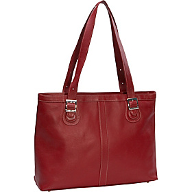 Ladies Laptop Tote Red