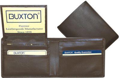 Buxton Mountaineer Credit Card Billfold Brown - Buxton Men's Wallets