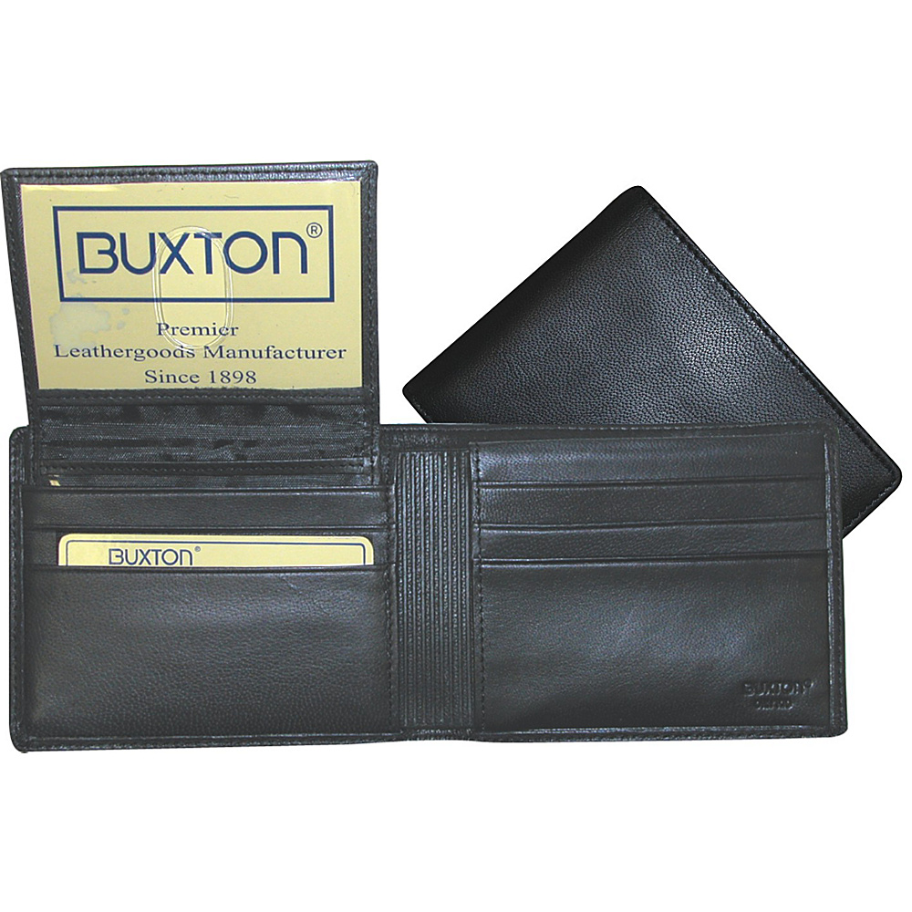 Buxton Mountaineer Credit Card Billfold - Black - Work Bags & Briefcases, Men's Wallets