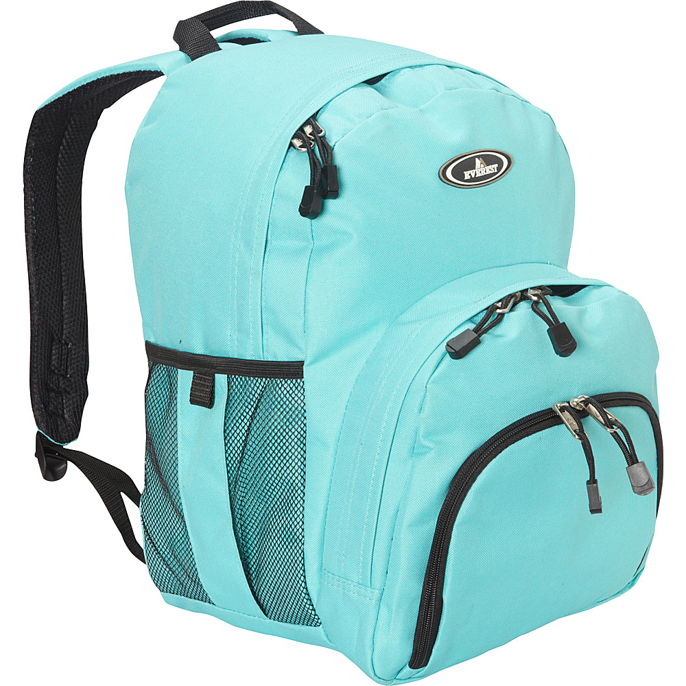 Everest Sporty Backpack Aqua Blue Everest Everyday Backpacks
