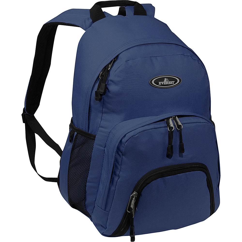Everest Sporty Backpack - Navy - Backpacks, Everyday Backpacks