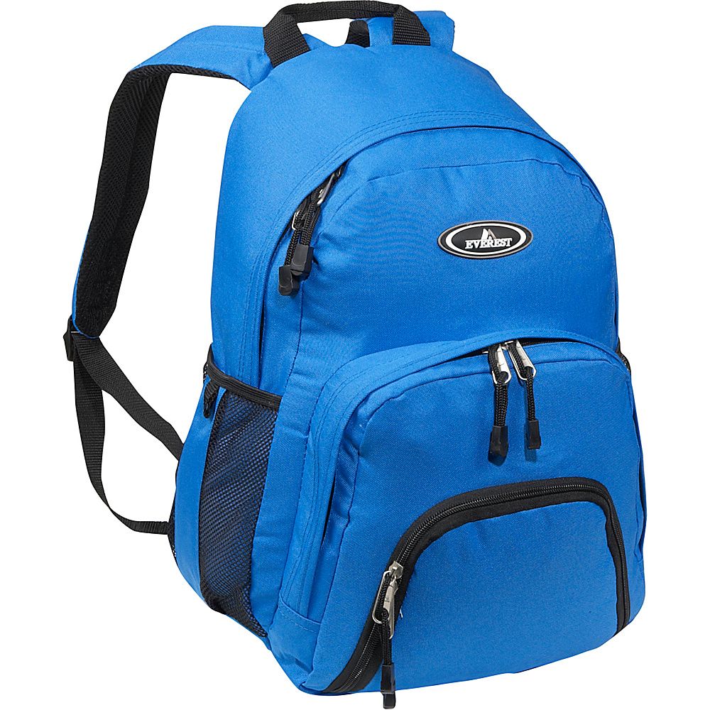Everest Sporty Backpack - Royal Blue - Backpacks, Everyday Backpacks