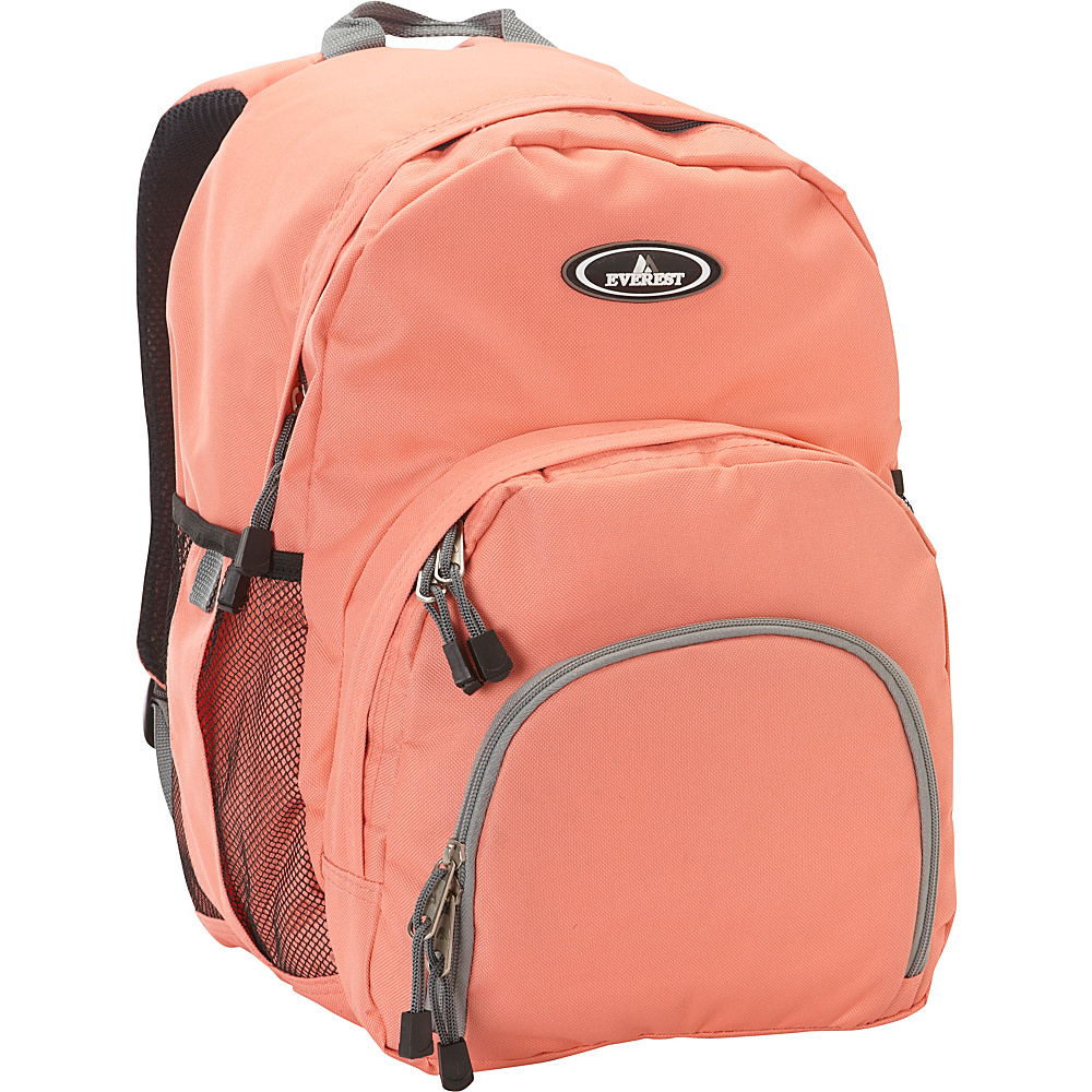 Everest Sporty Backpack Coral - Everest Everyday Backpacks - Backpacks, Everyday Backpacks