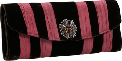 Global Elements Velvet Clutch - Clutch