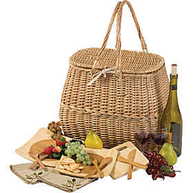 Eco Picnic Basket Natural
