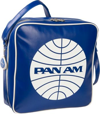 Pan Am Defiance Pan Am Blue/Vintage White - Pan Am Luggage Totes and Satchels