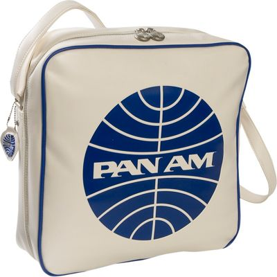 Pan Am Defiance Vintage White/Pan Am Blue - Pan Am Luggage Totes and Satchels