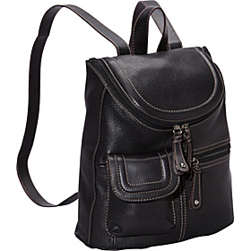 Multi Pocket Backpack Black