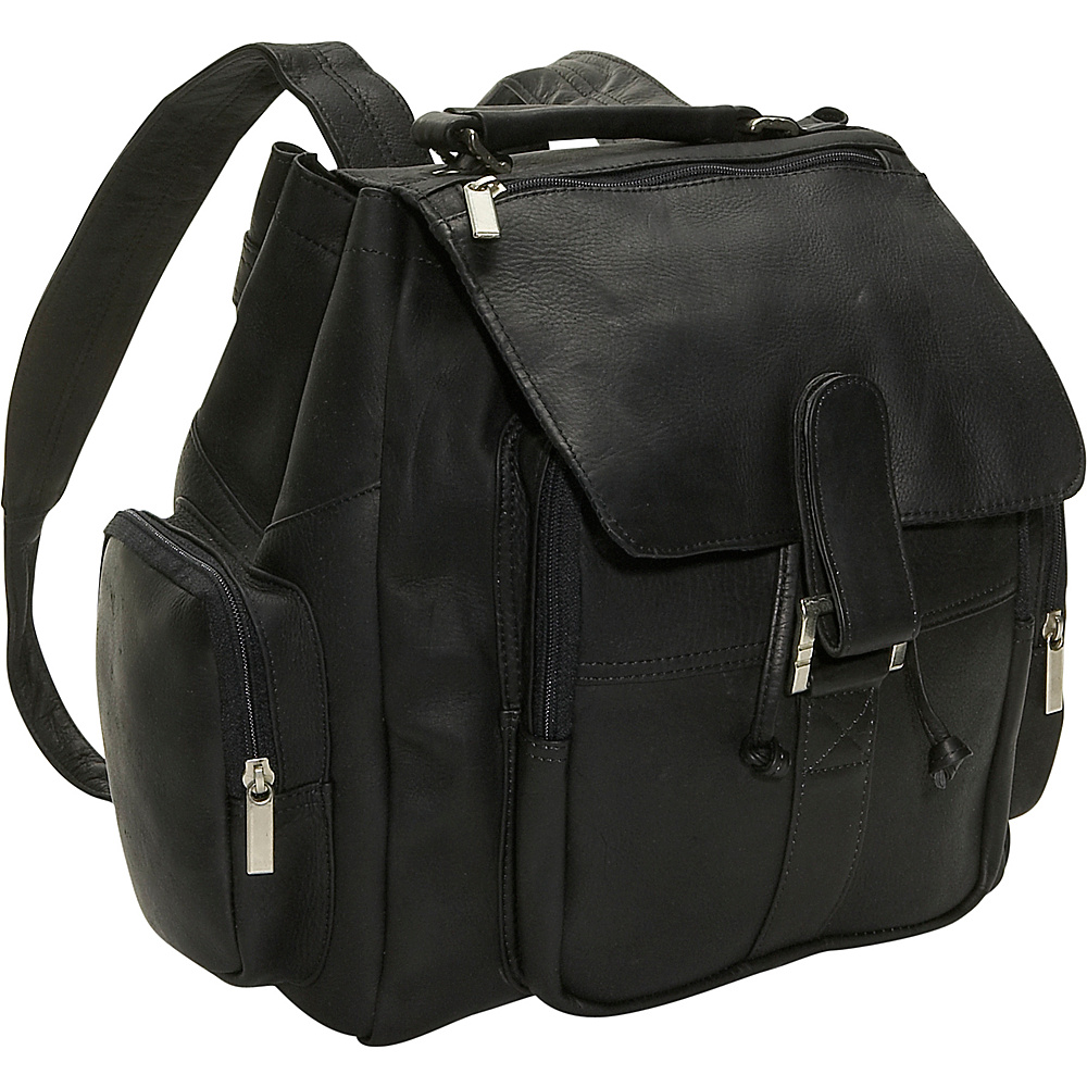 David King & Co. Top Handle Backpack - Black - Handbags, Manmade Handbags
