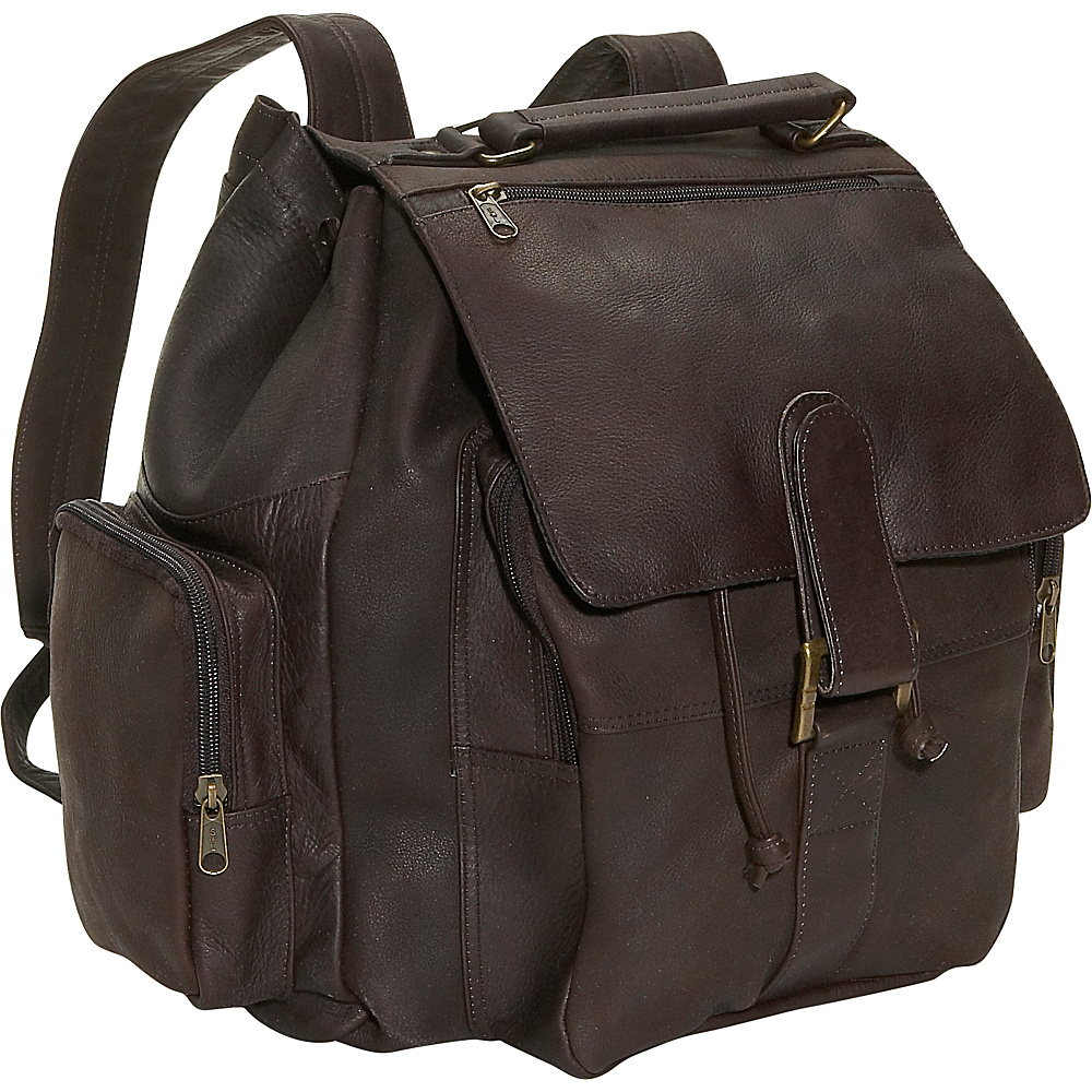 David King & Co. Top Handle Backpack Cafe - David King & Co. Manmade Handbags - Handbags, Manmade Handbags