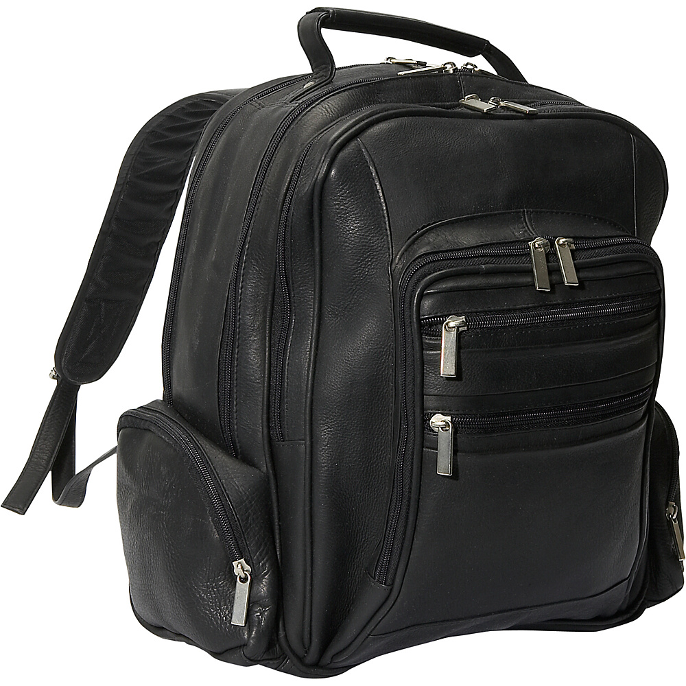 David King & Co. Oversize Laptop Backpack Black - David King & Co. Business & Laptop Backpacks - Backpacks, Business & Laptop Backpacks