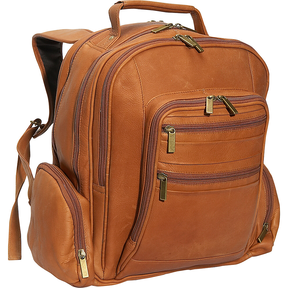 David King & Co. Oversize Laptop Backpack Tan - David King & Co. Business & Laptop Backpacks - Backpacks, Business & Laptop Backpacks