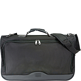 Ballistic Nylon Tri-fold Carry On Garment Bag Black