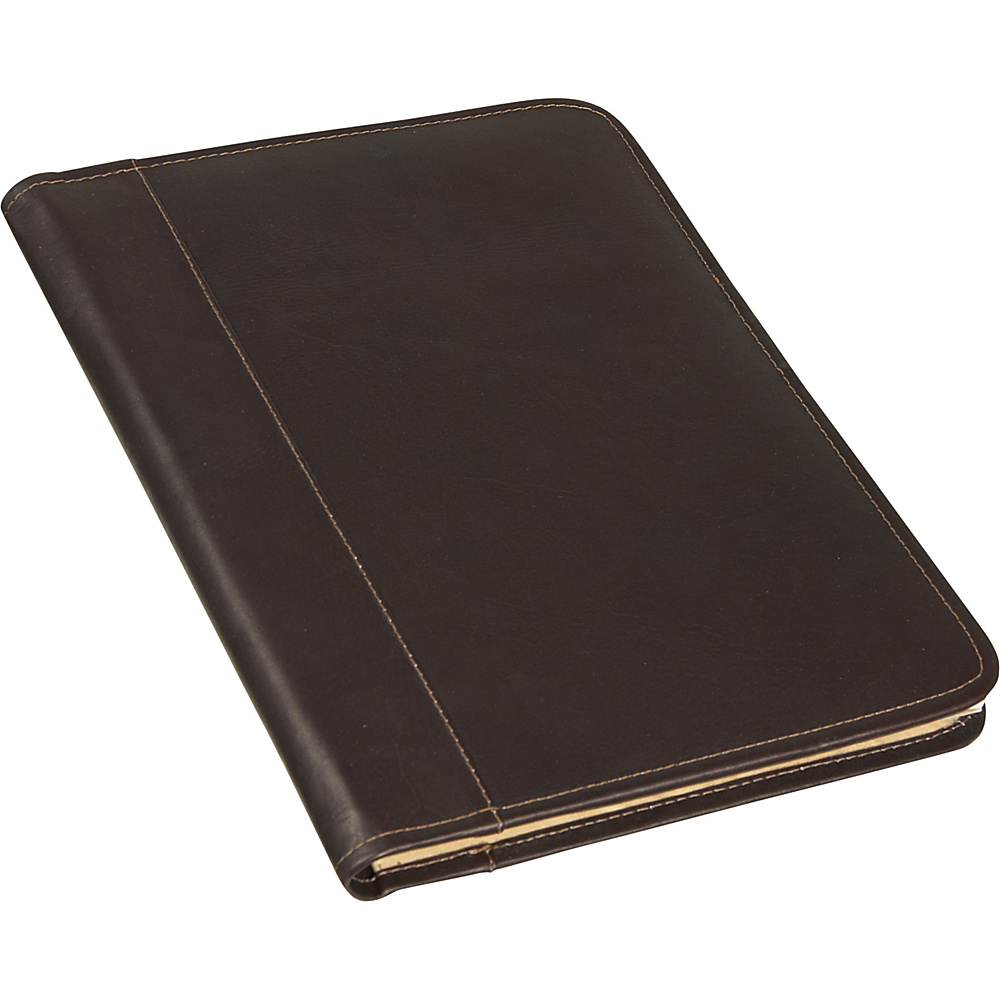 Piel Lettersize Notepad - Chocolate - Work Bags & Briefcases, Business Accessories