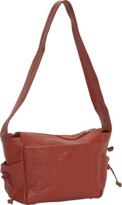 J. P. Ourse & Cie. Open Trails Petite Berry Red - J. P. Ourse & Cie. Leather Handbags