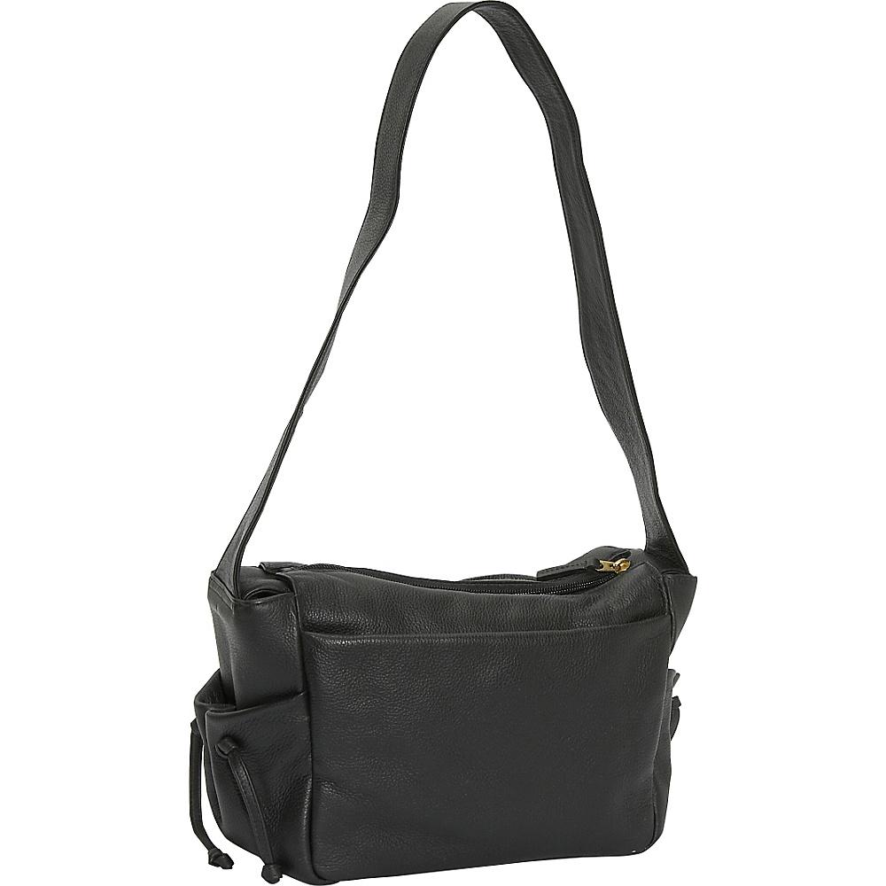 J. P. Ourse & Cie. Open Trails Petite - Black - Handbags, Leather Handbags