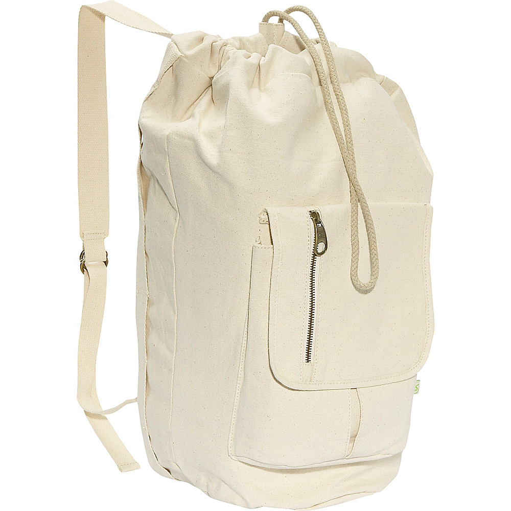 Eastsport Tall Duffel Bag - Natural - Backpacks, Everyday Backpacks