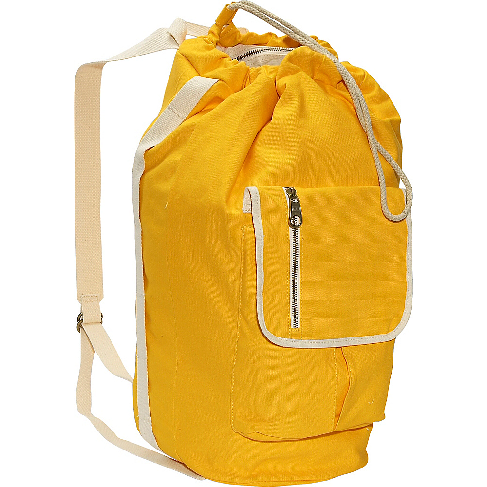 Eastsport Tall Duffel Bag Yellow