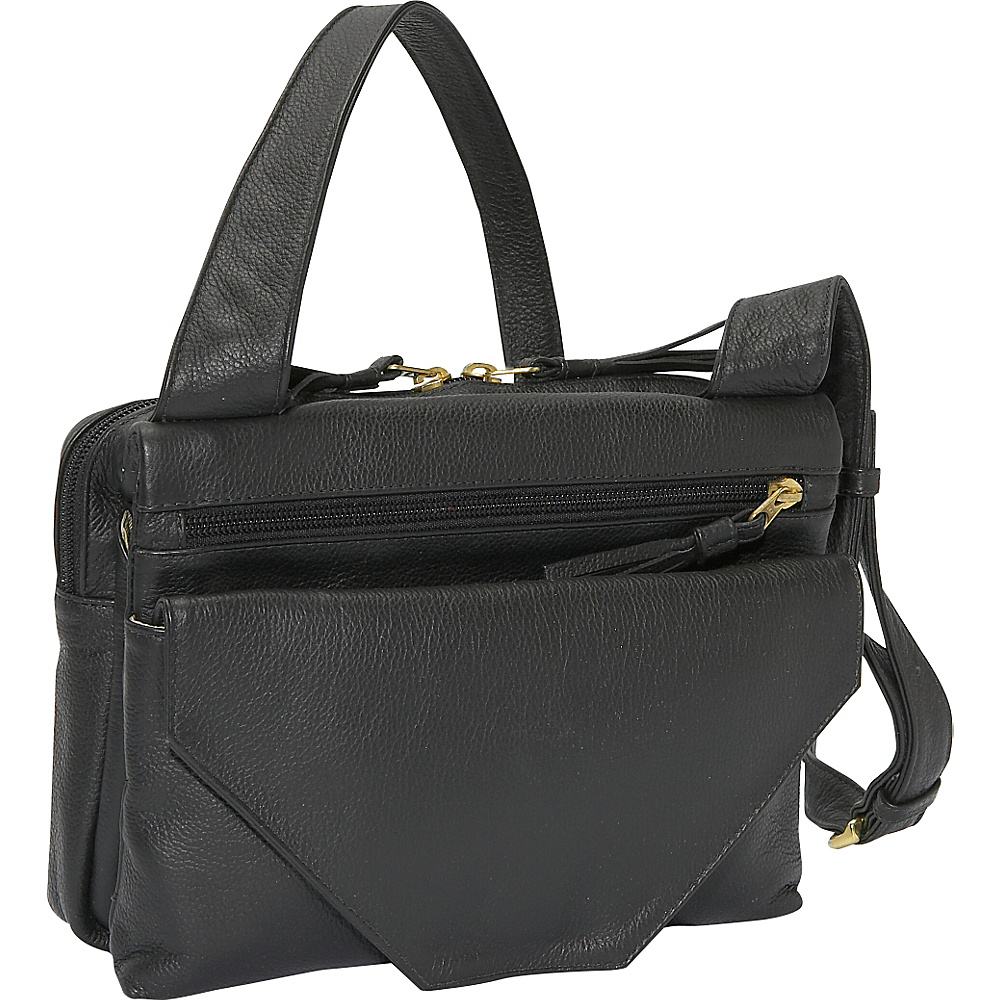 J. P. Ourse Cie. Mega Bag Black