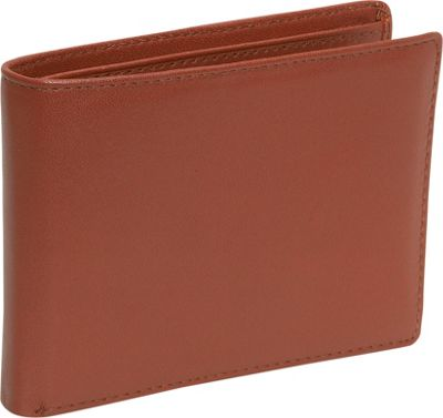 Budd Leather Cowhide Leather Slim Wallet w/Passcase