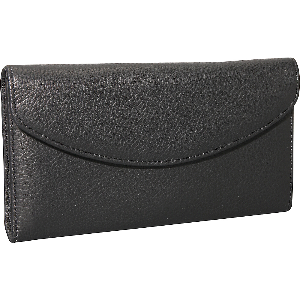 Dopp Roma Check Clutch Black