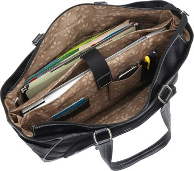 Clark & Mayfield Sellwood XL Laptop Tote 17.3 inch Black - Clark & Mayfield Women's Business Bags