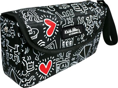 Bumkins Diaper Bags Waterproof Clutch - Keith Haring