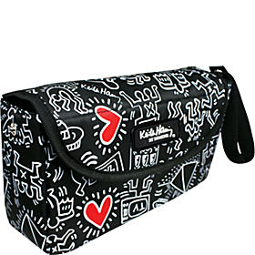 Waterproof Clutch Keith Haring Graffitti