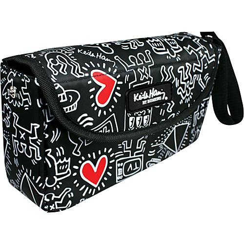 Bumkins Diaper Bags Waterproof Clutch - Keith Haring