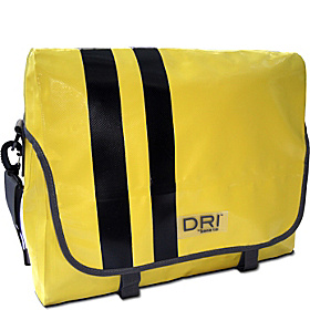 DRI® Computer Messenger with Waterproof Welded Seams Yellow