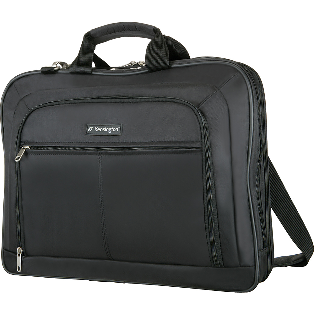 Kensington SureCheck Classic Notebook Case - Black - Work Bags & Briefcases, Non-Wheeled Business Cases