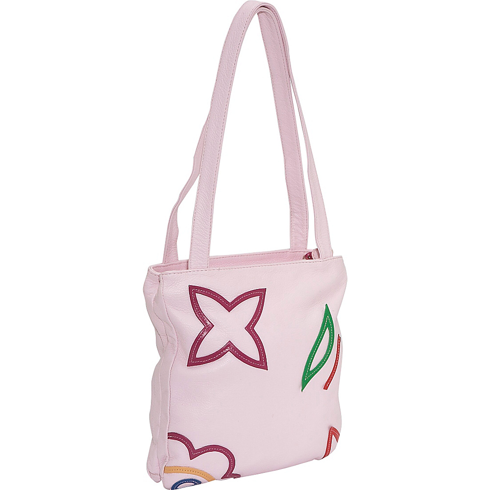 John Cole Ulrika - Rose - Handbags, Leather Handbags