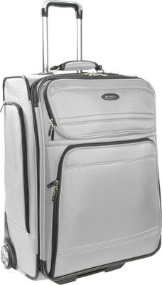 Samsonite DKX 25 Exp Upright Silver Samsonite Large Rolling Luggage